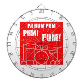 Pa Rum Pum Pum Pum Dart Board