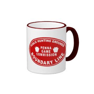 PA State Game Lands Boundary - Mug