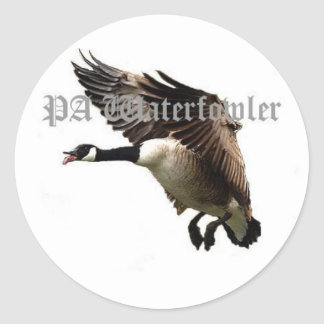 Pa Waterfowler Goose Sticker