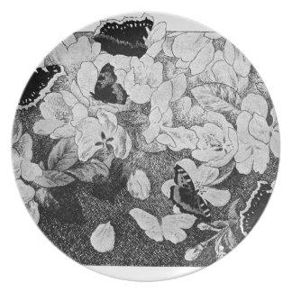 Paa Eplegrenen by Theodor Severin Kittelsen Dinner Plate