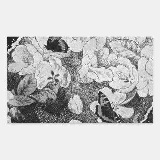 Paa Eplegrenen by Theodor Severin Kittelsen Rectangular Sticker