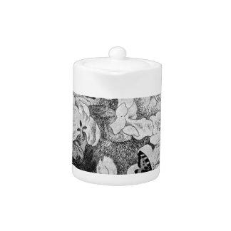 Paa Eplegrenen by Theodor Severin Kittelsen Teapot