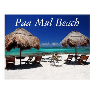 Paa Mul Beach Postcard