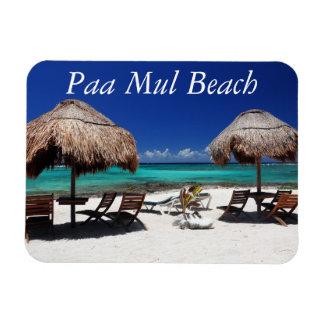 Paa Mul Beach Rectangular Photo Magnet