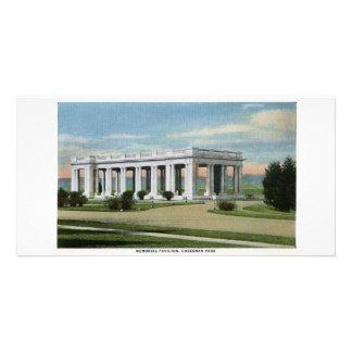 Pabellón conmemorativo de Cheesman, Denver, Colora Tarjeta Personal Con Foto