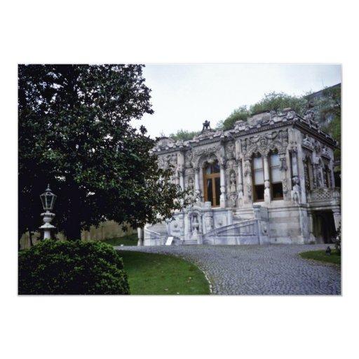 Pabellón de Ihlamur, pequeño palacio de verano del Invitación Personalizada