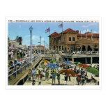 Pabellón de la música, ciudad del océano, vintage  postales