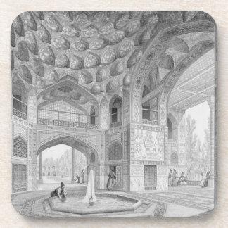 Pabellón de los ocho paraísos, en Isfahán, de Posavasos De Bebidas