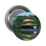 Pabellón de oro en Kyoto Japón Pins