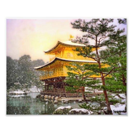 Pabellón de oro impresiones fotograficas
