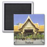 Pabellón de oro Tailandia del tejado Imanes De Nevera