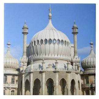 Pabellón real, Brighton, Sussex, Inglaterra Azulejo Cuadrado Grande