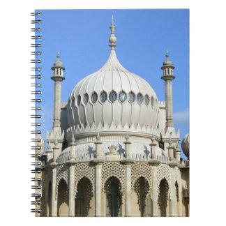 Pabellón real, Brighton, Sussex, Inglaterra Cuadernos