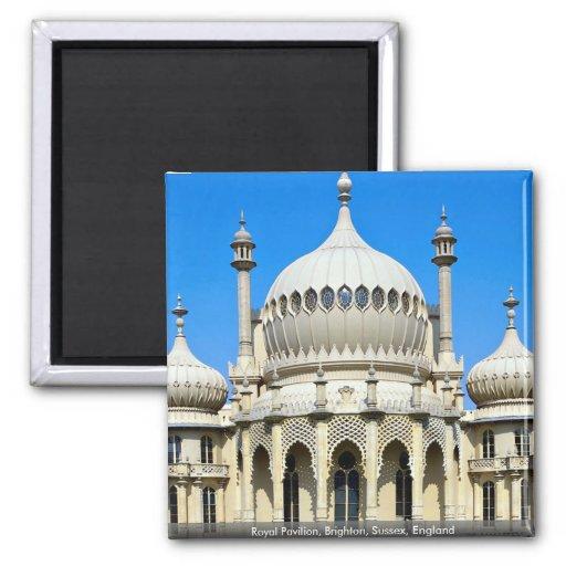 Pabellón real, Brighton, Sussex, Inglaterra Imán De Frigorífico