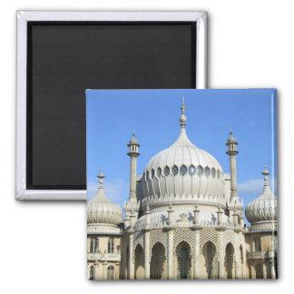 Pabellón real, Brighton, Sussex, Inglaterra Imán Cuadrado