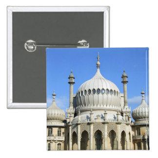 Pabellón real, Brighton, Sussex, Inglaterra Pin Cuadrado