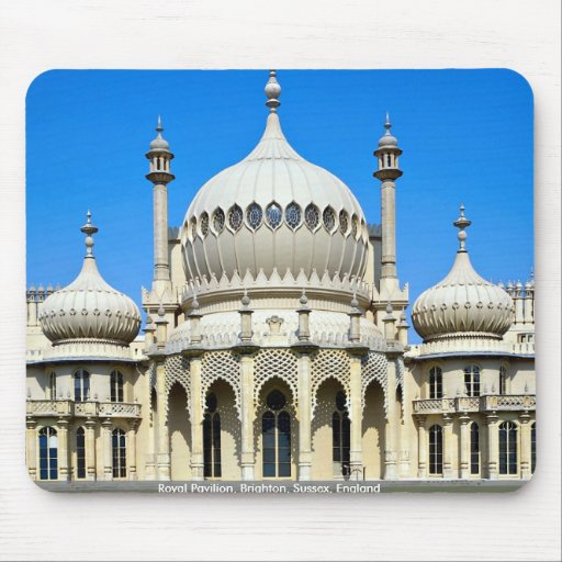 Pabellón real, Brighton, Sussex, Inglaterra Tapete De Ratones
