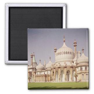 Pabellón real de Brighton Imán Cuadrado
