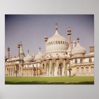 Pabellón real de Brighton Póster