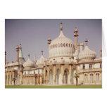 Pabellón real de Brighton Tarjeta De Felicitación