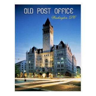 Pabellón viejo de la oficina de correos Washingto Tarjeta Postal
