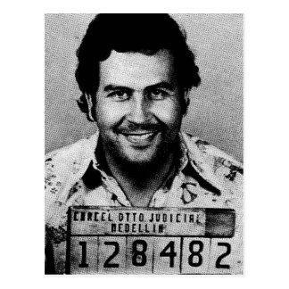 Pablo Emilio Escobar Postcard