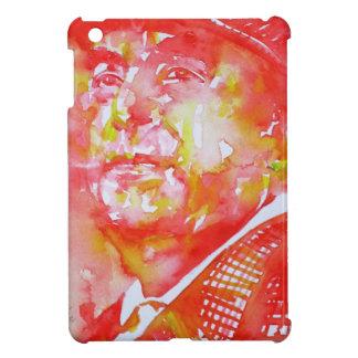 pablo neruda -watercolor portrait.5 iPad mini case