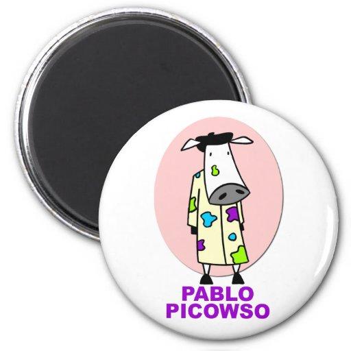 Pablo Picowso Imán De Frigorífico