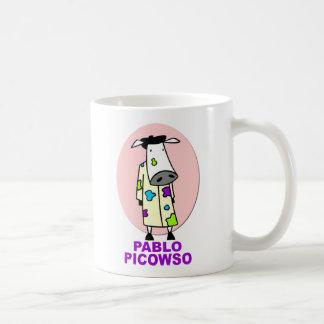 Pablo Picowso Classic White Coffee Mug