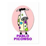 Pablo Picowso Tarjeta Postal