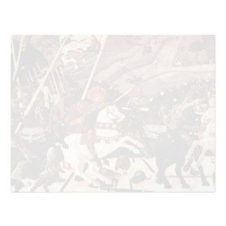 Pablo Uccello- la batalla del romano de San Membrete A Diseño
