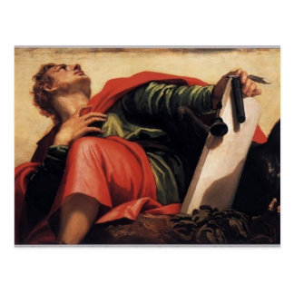 Pablo Veronese- St John el evangelista Postales