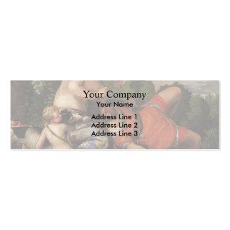 Pablo Veronese- Venus y Adonis Tarjetas De Visita Mini