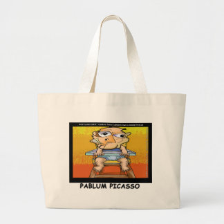 Pablum Funny Tees Cards Mugs Gifts Etc Large Tote Bag