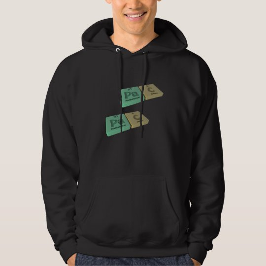 Pac as Pa Protactinium and C Carbon Hoodie