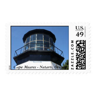 Pac. NW Lighthouse Stamps - Cape Meares