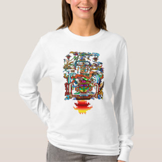 Pacal and the Mayan Hands (Femme Deluxe) T-Shirt