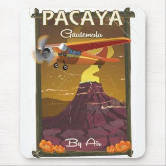 Pacaya Volcano Guatemala travel poster Mouse Pad