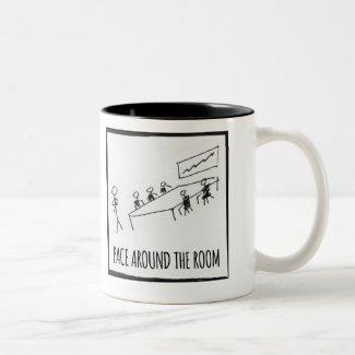 Pace Around Mug