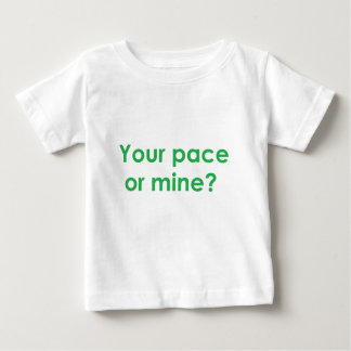 pace-green baby T-Shirt