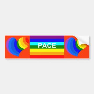 pace Italian bumper sticker