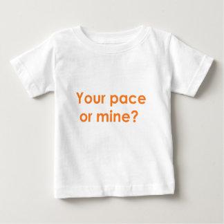 pace-orange baby T-Shirt