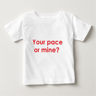 pace-red baby T-Shirt
