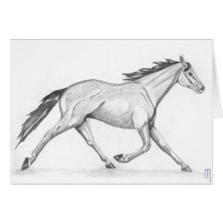 Pacer Greeting Card