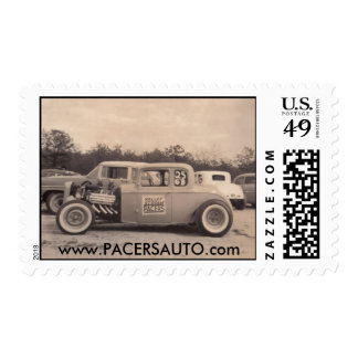 Pacers 32 Coupe Postage Stamp