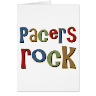 Pacers Rock Greeting Card