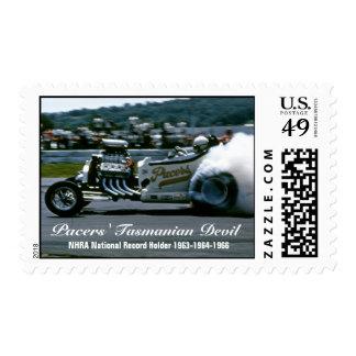 Pacers Tasmanian Devil Stamp