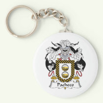 Pacheco Family Crest Keychain