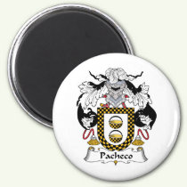 Pacheco Family Crest Magnet