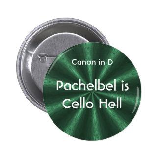 Pachelbel es infierno del violoncelo - botón